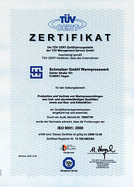Certification german