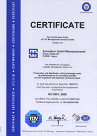 Certification english